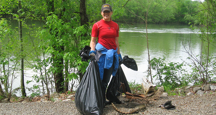 Caney Cleanup October '09